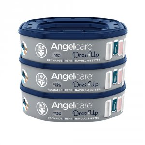 Angelcare 3 recharges octogonales pour poubelle dress up