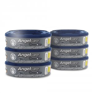 Angelcare 6 recharges octogonales pour poubelle dress up