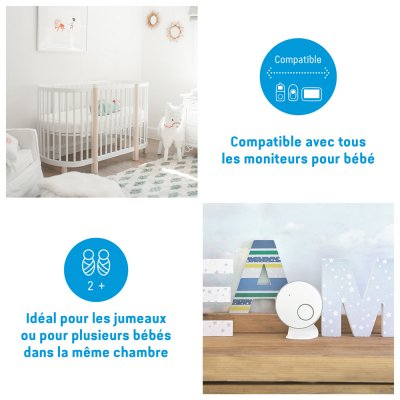 Babyphone bébé avec détecteur de mouvements ac127 Angelcare