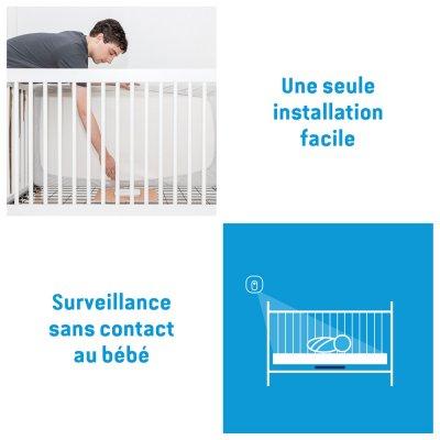 Babyphone bébé vidéo avec détecteur de mouvements ac327 Angelcare