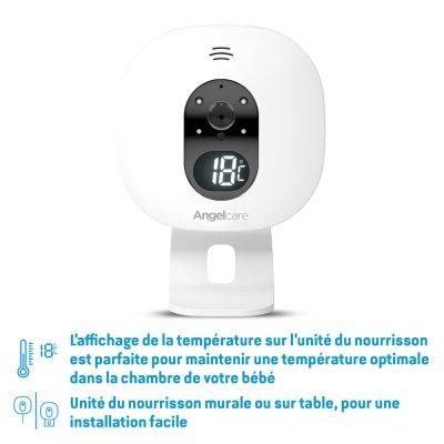 Babyphone vidéo avec détecteur de mouvements ac527 Angelcare