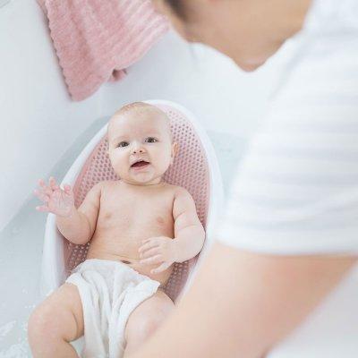 Transat de bain rose Angelcare