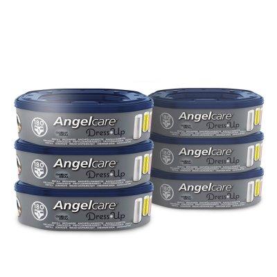 Angelcare 6 recharges octogonales pour poubelle dress up