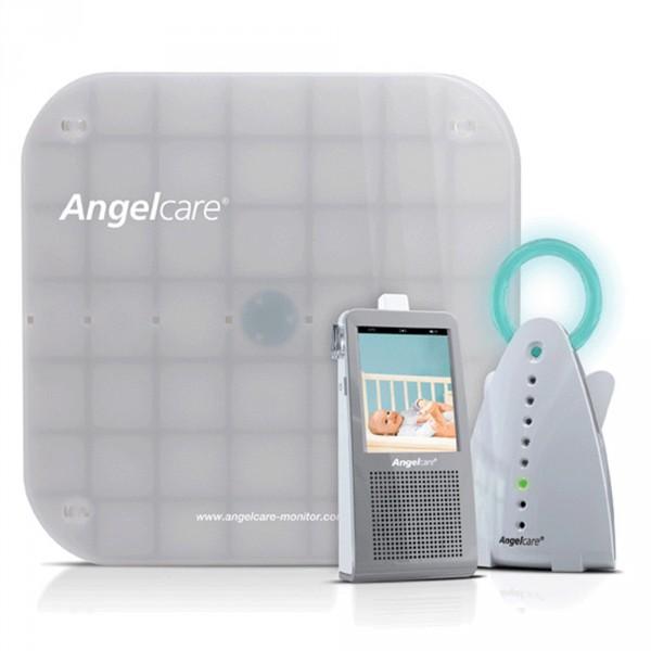 Babyphone moniteur son mouvement vidéo et veilleuse ac1100 Angelcare
