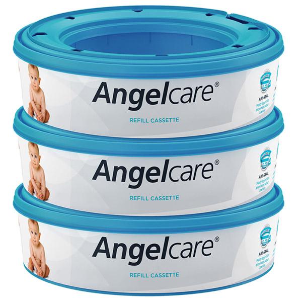 Lot de 3 recharges pour poubelle à couches angelcare Angelcare