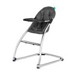 Chaise haute bébé taste gris anthracite pas cher