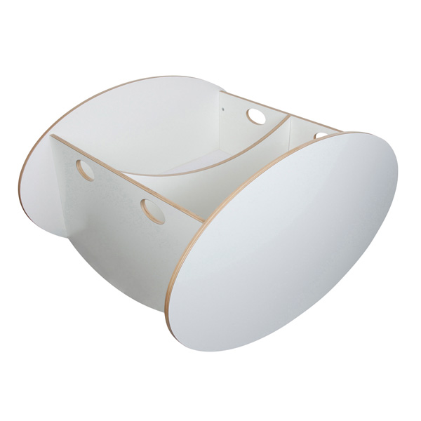 Berceau twin so ro blanc Babyhome