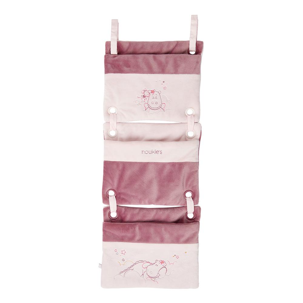 Poche de lit mia et victoria de noukies sur allob b - Lit bebe qui s accroche au lit des parents ...