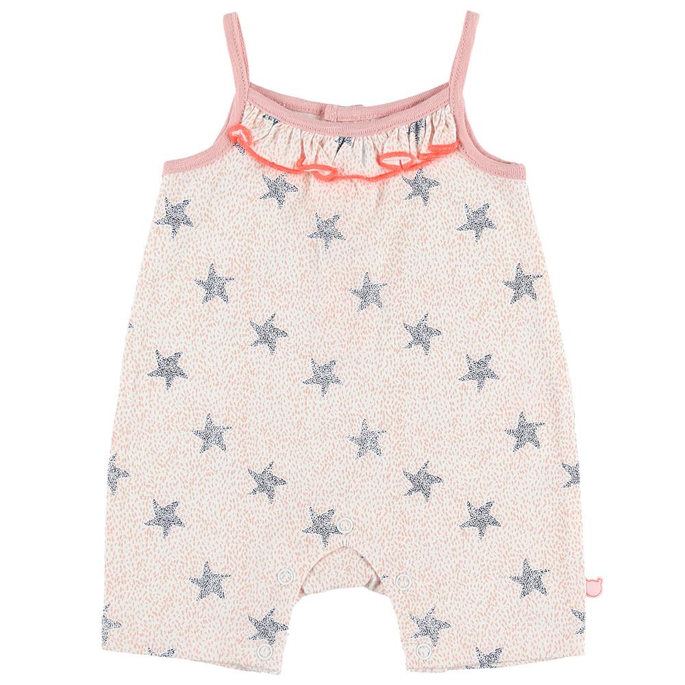 2db88878592a0 Pyjama combishort bord de mer fille rose de Noukies sur allobébé