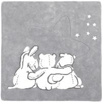 Tapis de chambre bébé en coton avec personnage poudre d'étoiles