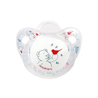 Sucette silicone nouky 0-6 mois
