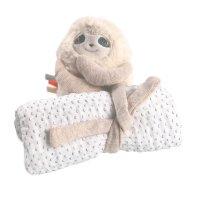 Ma première couverture bébé en mousseline bio moris