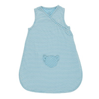 Gigoteuse en jersey 50 cm turquoise