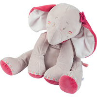 Peluche bébé anna medium