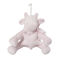 Peluche bébé musical lola rose cocon