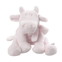 Peluche bébé lola small rose cocon