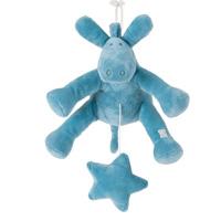 Peluche bébé musical paco turquoise