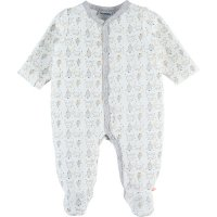 Pyjama dors bien velours winterland écru imprimé ours