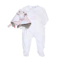 Coffret naissance pyjama lola et son doudou tidou