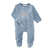 Pyjama dors bien velours lagon graph boy