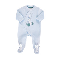 Pyjama dors bien velours bleu smart boy