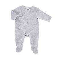 Pyjama dors bien velours gris mix and match