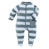 Pyjama dors bien velours rayé graphique boy