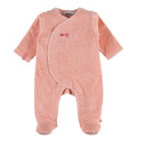 Pyjama dors bien velours minoushka rose