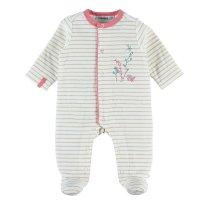 Pyjama dors bien velours rayé smart girl