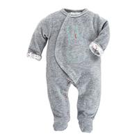 Pyjama dors bien velours gris peps boy