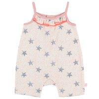 Pyjama combishort bord de mer fille rose
