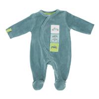 Pyjama bébé velours graph boy mirage