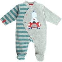 Pyjama dors bien velours peps boy bicolor