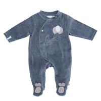 Pyjama dors bien velours bleu smart boy