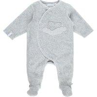 Pyjama dors bien velours cocon gris