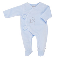 Pyjama dors bien velours bleu mix and match
