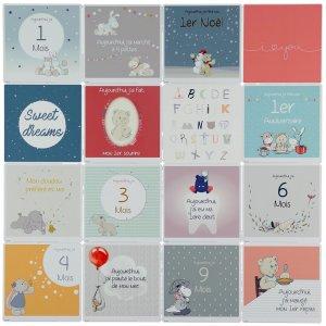 Noukies Cartes photos souvenirs première année de bébé