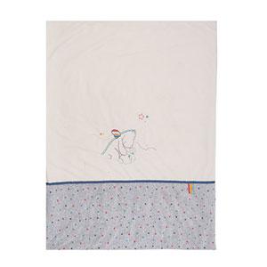 Couverture bébé veloudoux 75 x 100 cm guss et victor