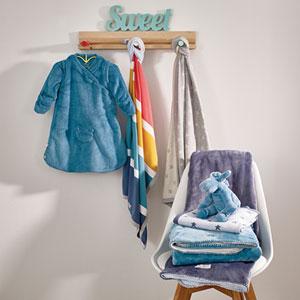 Noukies Couverture de taille idéale pour porter bébé dès sa naissance