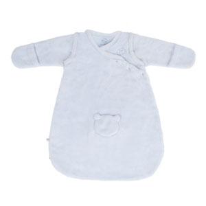 Gigoteuse bébé veloudoux 50cm bleu cocon