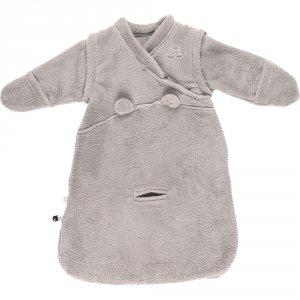 Gigoteuse bébé veloudoux 50cm gris clair