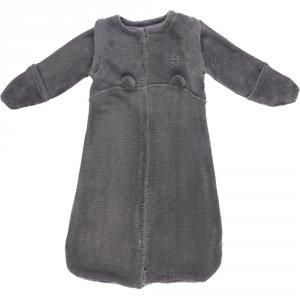 Gigoteuse bébé veloudoux 70cm gris foncé