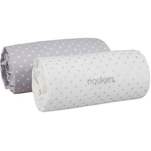 Noukies Lot de 2 draps housse 70 x 140 cm poudre d'étoiles