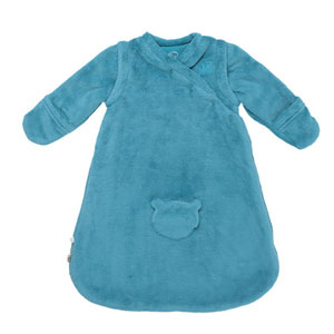 Noukies Gigoteuse groloudoux 50 cm turquoise