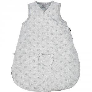 Noukies Gigoteuse 50 cm jersey gris clair