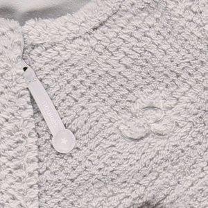 Noukies Gigoteuse groloudoux 90 cm gris perle