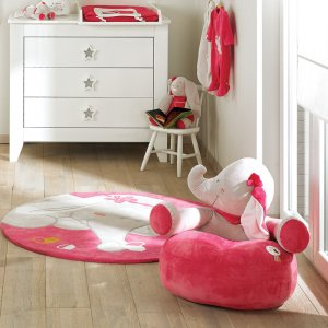 Noukies Fauteuil chambre bébé sofa anna