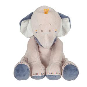 Noukies Peluche bébé bao 40 cm
