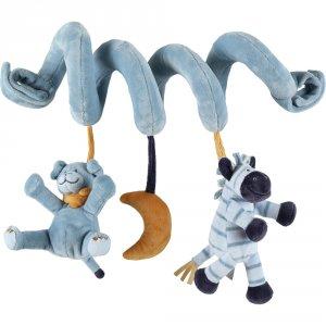 Jouet de lit bébé spirale d'activités achille et zébrito