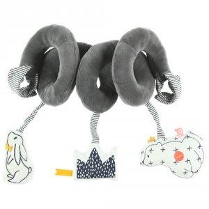 Noukies Jouet de lit bébé spirale d'activités timeless